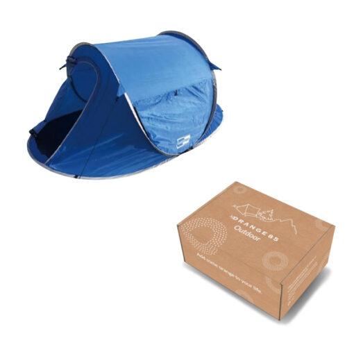Pop up tent 2 personen verpakking
