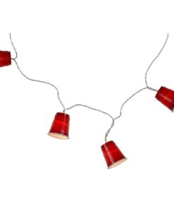 Orange85 Lichtsnoer voor Buiten Mini Red Cups