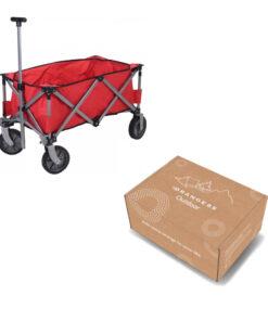 Opvouwbare bolderkar verpakking